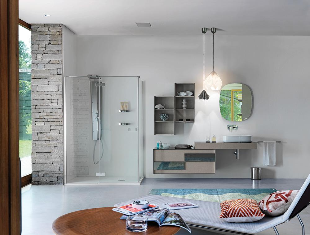 Progettazione bagni su misura architetti rigolio arredamenti for Arredo bagno varese