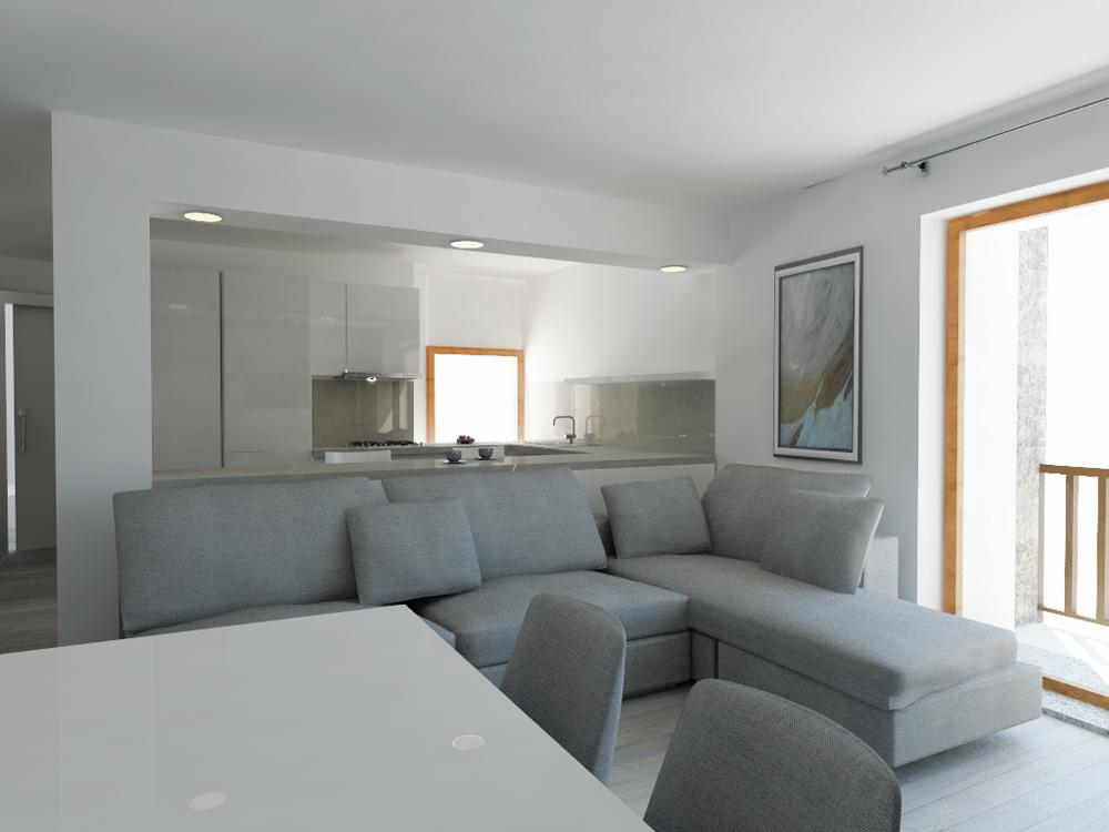 Arredare monolocale progetti arredamento per monolocali - Letto per monolocale ...